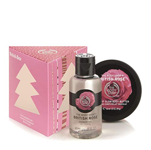 The Body Shop British Rose Treats Gift Set