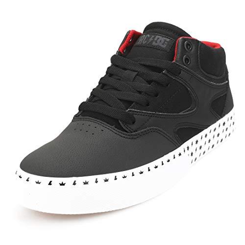 DC Shoes Kalis Vulc Mid AC/DC Hombres Zapatillas Patin - 40.5 EU