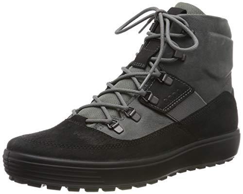 ECCO Herren Soft 7 TRED M Klassische Stiefel, Grau (Black/Titanium 52570), 43 EU