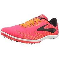 Brooks Mach 18, Zapatillas de Cross para Mujer, Multicolor (Pink/Orange/Black 667), 44.5 EU
