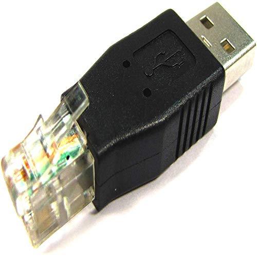 BeMatik - Adaptador RJ11 a USB (RJ11-M/USB-AM)