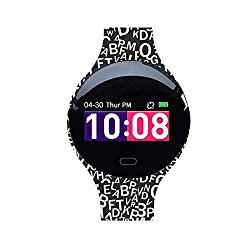 Fitness Tracker for Kids Women,IP67 Waterproof with Blood Pressure Heart Rate Sleep Monitor,smart watch with Vibration Alarm Clock/Calorie Burned/Distance/Alarm/Stopwatch for Kids Women Men (color 2)