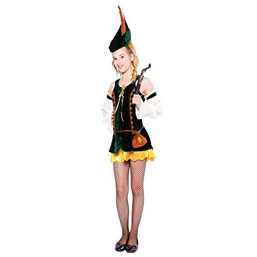 Bristol Novelty TC102 Hunter Girl Volwassene Kostuum, Vrouwen, Klein