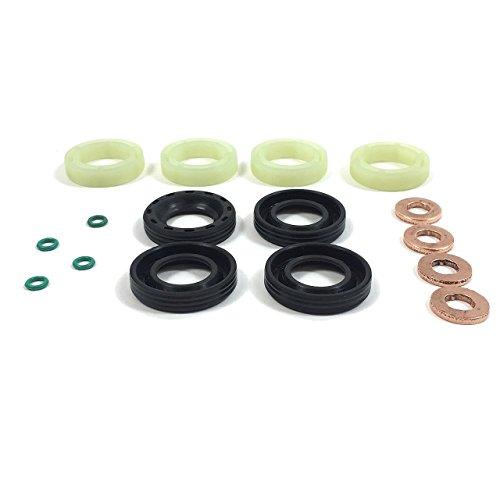 Set mit Kraftstoff-Einspritzerdichtung + Unterlegscheibe + O-Ring, passend für 1,6TDCi/HDI.