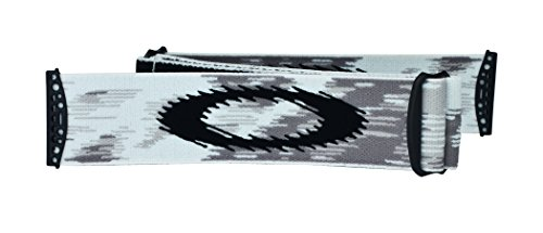 Oakley Mx Goggle AIRBRAKE Strap, Rep Strap White Speed, UNI, 100-262-002
