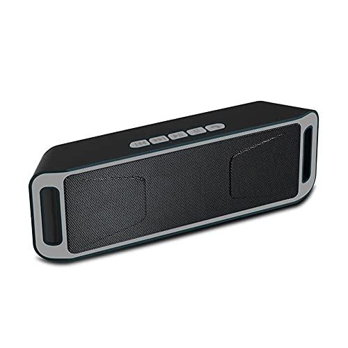SFQRYP Mini Altavoces inalámbricos al Aire Libre Bluetooth-Compatible con Altavoces Subwoofer de bajo estéreo for teléfonos Inteligentes de computadora (Color : 3)