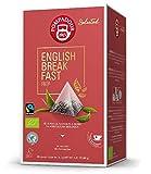 Desayuno inglés orgánico de té negro Pompadour 1913 - 1 x 20 pirámides de té (40 gramos)