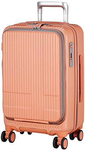 [イノベーター] スーツケース 機内持ち込み 多機能Pカラーモデル INV50 保証付 55 cm 3.3kg ペールオレンジ