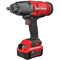 Craftsman 20V Variable Speed Lithium-Ion 1/2 in. Cordless Impact Wrench Kit - Factory Reconditioned