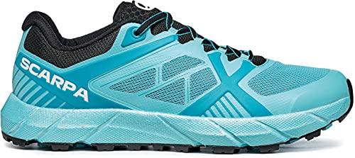 Scarpa SPIN 2.0 WMN, Zapatillas de Trail Running Mujer, Atoll-Black ARSW FIXION 2, 42 EU