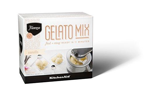 KitchenAid KFMGD14TPVA Franzese Authentic Italian Vanilla Gelato Mix (2 Pack), 14.1 oz