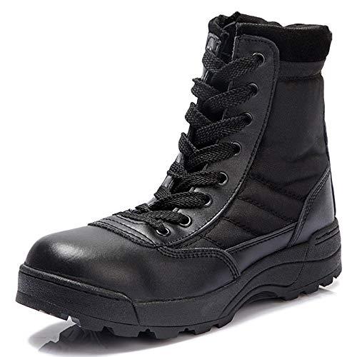 QIKAI Zapatos Militares Abanico Del Ejército Al Aire Libre Suministra Entrenamiento De...