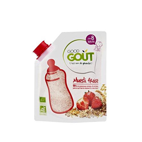 Good Goût - BIO - Céréales Muesli Fraise dès 8 Mois 200 g