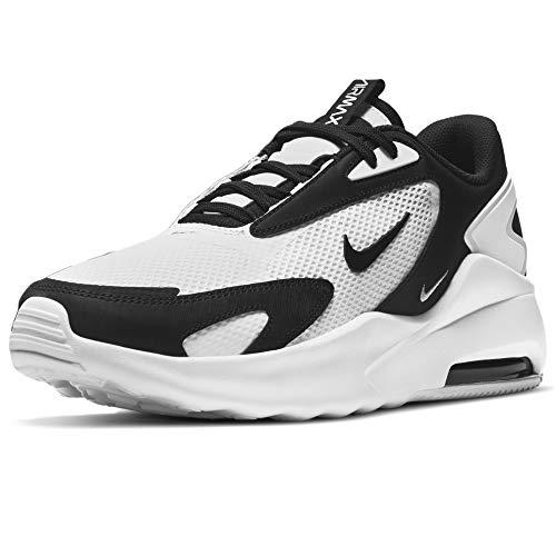Nike Air MAX Bolt, Zapatillas para Correr Hombre, White Black White, 44 EU