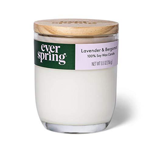 EVERSPRING- Lavender & Bergamot 100% Soy Wax Candle