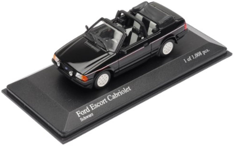 Minichamps DP 1 43 Ford Escort III Cabriolet 1983 (Black) (japan import)