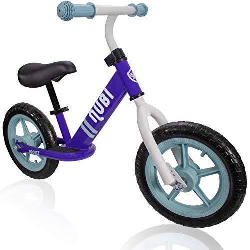 Nubi Sprint 12' Purple & Blue Kids Balance Bike