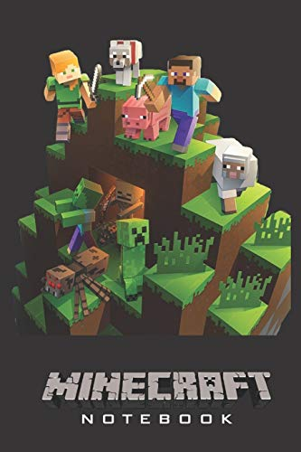 """Minecraft Notebook: Player's Notebook, Sketchbook, Diary, Journal, For Kids, For A Gift, To School  