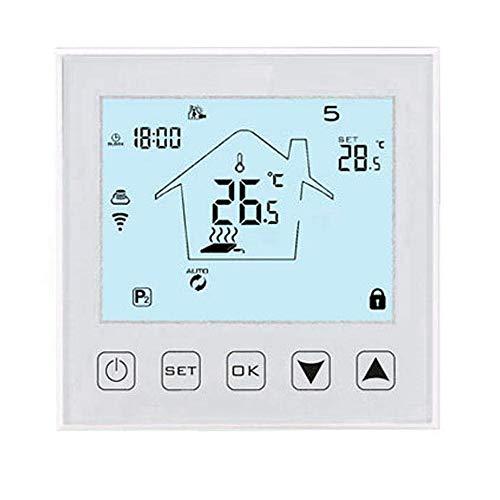 Shumo WiFi Drahtlos Temperatur Thermostat für KüHler/LüFter/Elektro Kamin/Fu? Boden Heizung, mit Home