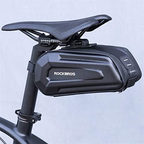 Bolsa De Bicicleta A Prueba De Lluvias Bolsa De Silla De Silla De Bicicleta A Prueba De Golpes Para Reflejación Capatilidad Grande Capacidad De Asiento Capatilidad MTB Accesorios De Bolsa De Bicicleta