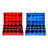 SAE Metric O Ring Kit Orings Assortment Set, 826-Piece Rubber O-Rings for Plumbing, Automo...