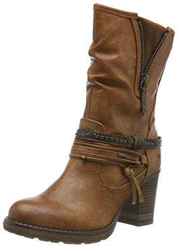 MUSTANG Ankle Boots Shoes Brown, tamaño:40