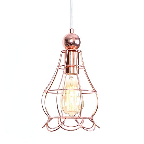WPCASE Pendelleuchte Gold KüChenlampen HäNgelampe Pendelleuchte HäNgelampe Deckenlampe HäNgend Pendelleuchte Holz Pendellampe Esstischlampe Pendelleuchte Schwarz HäNgelampe Esszimmer 4