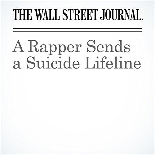 A Rapper Sends a Suicide Lifeline copertina