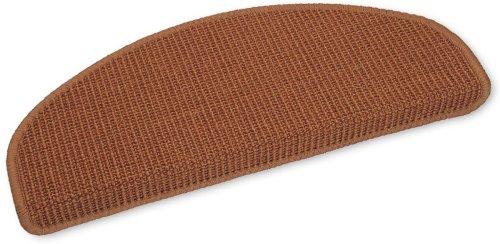 Ypsilon GmbH Sisal-Stufenmatten Rio 50x20x4cm halbrund (Terra)
