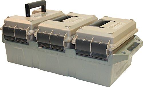 Great Deal! MTM Case-Gard AC3 50 Caliber 3 Can Ammo Crate - Dark Earth