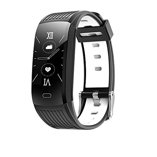 Smart Fitness Tracker, pulseras Bluetooth Smartband para hombres y mujeres, monitor de frecuencia cardíaca, control del sueño, contador de calorías, podómetro, resistente al agua