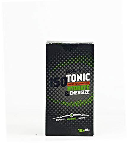 BioTech IsoTonic Barras Nutritivas Resistencia y Energía - 40 gr
