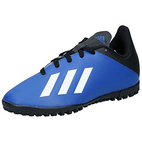 adidas Jungen X 19.4 Tf J Fußballschuh, Azurea/Ftwbla/Negbás, 30 EU