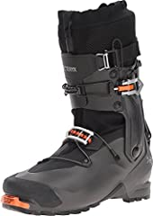 Boot Materials: Lower Shell – Grilamid Upper Cuff Halves – Grilamid Overlaid with Carbon Fiber Sole – Dual Density Vibram Sole and Molded Rubber Toecap Liner: Arc'teryx Procline Support Liner–Extremely light liner focused on uphill travel with ther...