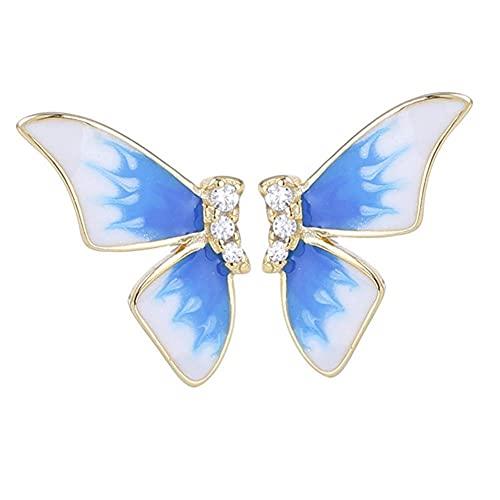 Pendientes de mariposa simples alas de mariposa para niñas y mujeres regalo