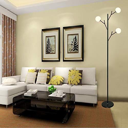 BINGFANG-W Dormitorio Modo Kreative LED Creativo Stehleuchte Wohnzimmer Einfache Moderne -Augenbett Lampe Iluminación Eye-Cuidado Vertical luz del Piso Lámparas de pie