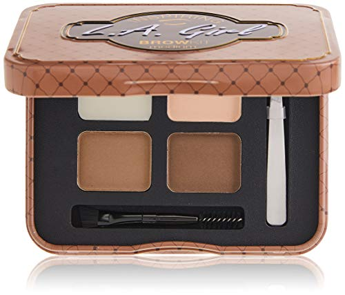 L.A. Girl Inspiring Brow Palette, Medium and Marvelous, 0.085 Ounce