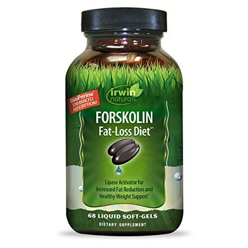 IRWIN NATURALS Forskolin Fat-Loss Diet Lipo-Stimulator 68 Count
