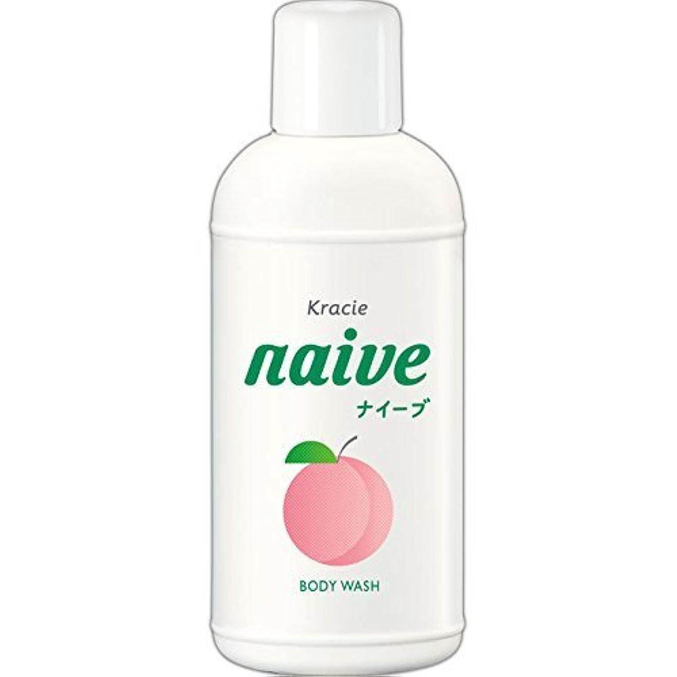 どちらも羨望省略する【クラシエ】ナイーブ ボディソープ 桃の葉 80ml ×10個セット