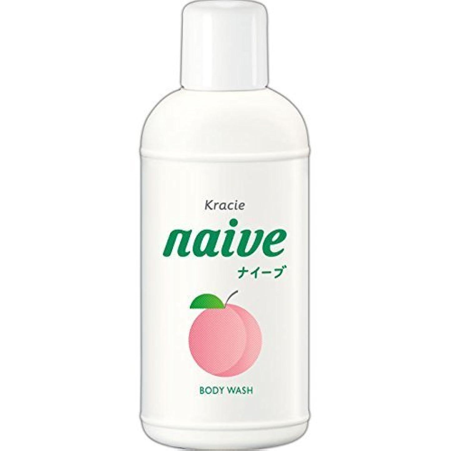 可動式パースアイザック【クラシエ】ナイーブ ボディソープ 桃の葉 80ml ×5個セット