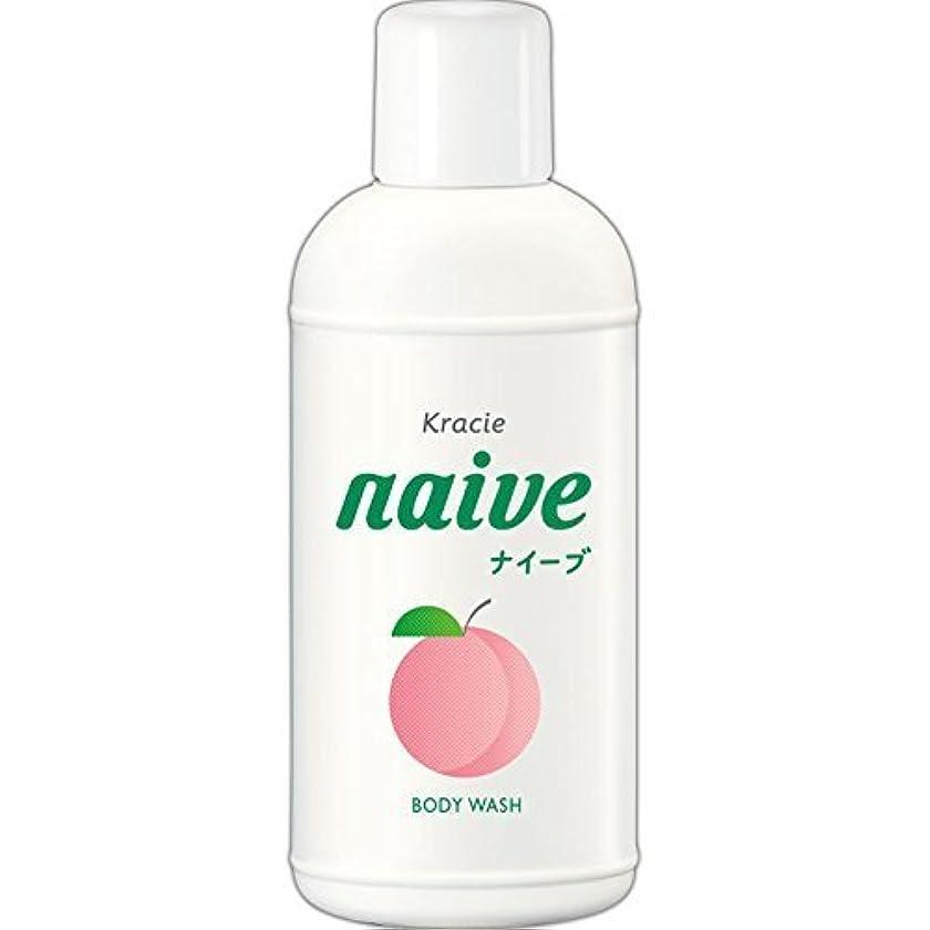 農場お互い周囲【クラシエ】ナイーブ ボディソープ 桃の葉 80ml ×10個セット