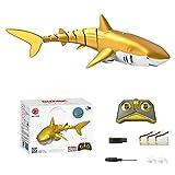 Nedyet RC, juguete eléctrico para niños con control remoto, tiburón volador, 2,4 G, juguete eléctrico para niños, recargable, mando a distancia, tiburón flotante, agua, juguete para niños