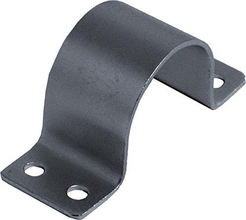 SKT BN80 - Abrazadera de fijación del mástil (38-42 mm, Tubo caño Soporte) Color Plata