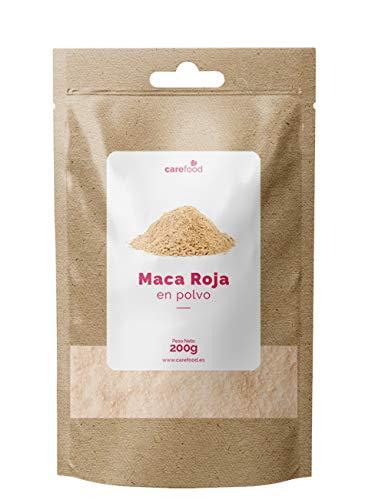 Maca Roja Orgánica 100% 200gr Carefood | Procedente de Per�