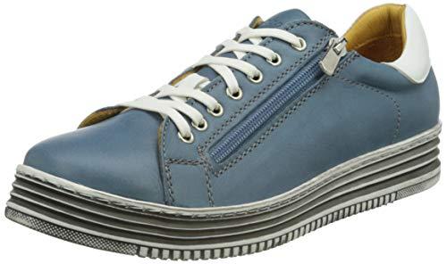 MICCOS 207881, Zapatillas Mujer, Vaquero, 37 EU