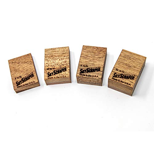 Floyd Rose Floating Tremolo Set Up Blocks - Trem Wedge (Luthier Set 1/4 - 3/4)