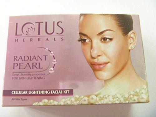Lotus Herbals Radiant Pearl Kit éclaircissant cellulaire pour le visage 37 g