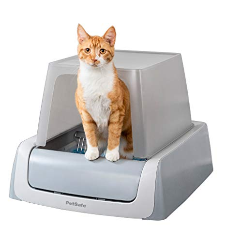 PetSafe ScoopFree Automatic Self Cleaning Hooded Cat Litter Box - Ultra,...