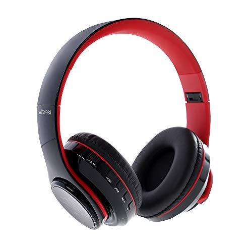 JiaMeng - Auriculares Gaming - Bluetooth 4.1 LED -JMEJ047