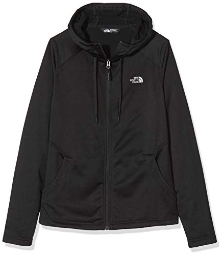 THE NORTH FACE Mädchen Tech Mezzaluna Hoodie, Tnf Black, S
